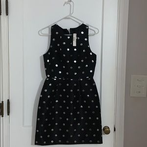 J. Crew polka dot dress